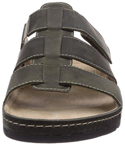 Rohde Seattle Riesa-H, Sandales mode homme Vert - Grün (fango 63)