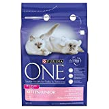 Purina One Kitten Reich an Huhn & Körner Trockenfutter 3kg (2Stück)