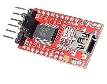 Gaoxing Tech. 5pcs Ft232rl Ftdi Usb Zum Ttl Seriellen Adapter 3.3v 5.5v Modul Mini Port Für Arduino Mini Port 1