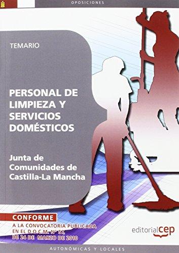 Personal de Limpieza y Servicios Domésticos. Junta de Comunidades de Castilla-La Mancha. Temario (Colección 371) por Sin datos