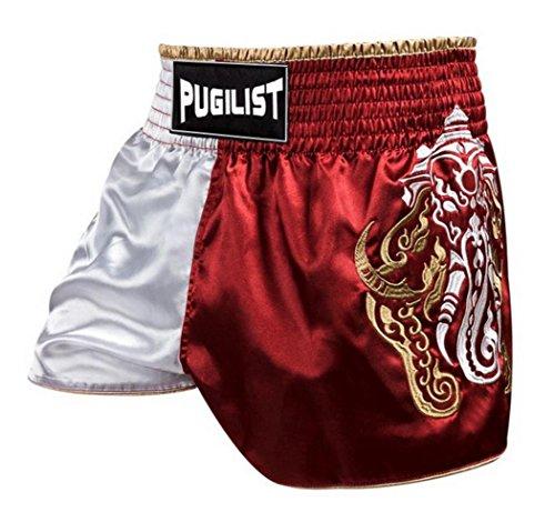penixon Kriegselefant Muay Thai Shorts Hose Trainingsshort (M für 80-90 cm Taillenumfang) (Shorts Thai Muay)