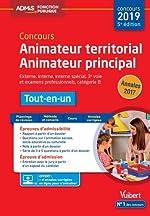 Concours Animateur territorial et Animateur principal - Catégorie B - Tout-en-un - Concours 2019 de Bellego Olivier