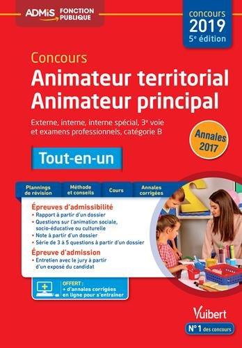 Concours Animateur territorial et Animateur principal - Catégorie B - Tout-en-un - Concours 2019 par Bellego Olivier