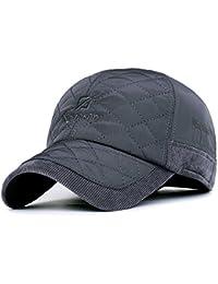 Baseballcap mit Ohrenklappen Wasserdicht Kappe Cord Golf Cap Mütze Schirmmütze Ohrenschutz Ohrenschützer Basecap Wintercap Wintermütze
