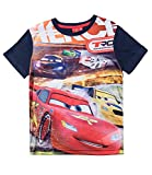 Disney Cars T-shirt (110, Marine Blau)