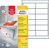 Avery Zweckform 6123 Adressetiketten (A4, Papier matt, 5x 120 Etiketten, 97 x 42,3 mm) 5x 10 Blatt weiß (5)