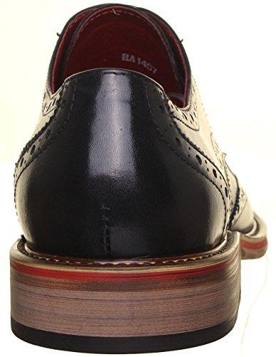 Justin Reece Dover, Zapatos De Cordones Grises Para Hombre
