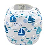 Ocamo Kidlove Cartton Digital Printing Swimming Pants Washable Soft Cloth Diaper for Baby Infant from 7 to 33 Pounds YS
