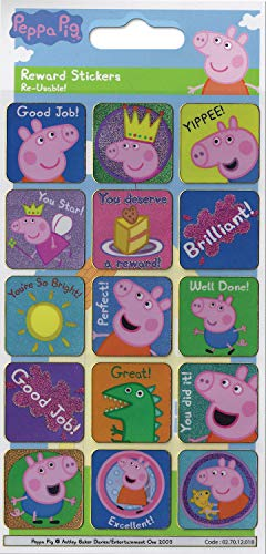 Paper Projects Peppa Pig - Pegatinas de recompensa