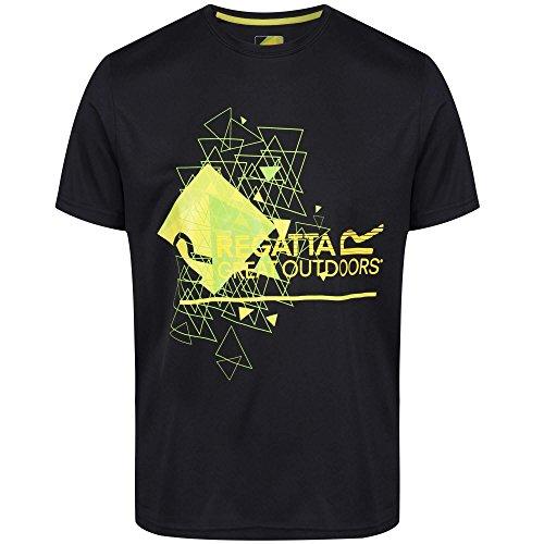 Von Amts Wegen Schwarzen T-shirt (Regatta FINGAL III - XL)