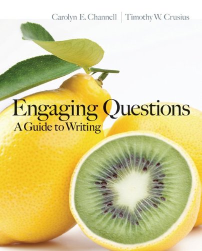 Gen Cmb Engage Ques; Cnct: Engaging Questions: A Guide to Writing with Connect Composition Access Card
