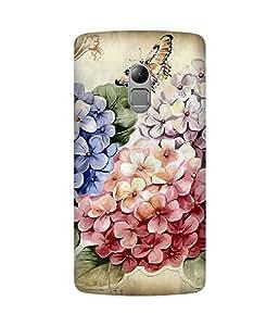 Vintage Flowers Back Cover Case for Lenovo K4 Note
