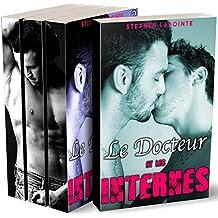 Le Docteur & Les Internes - L'INTEGRALE: (Nouvelle Gay, Sexe à Plusieurs, Plan à 3, Colocataires HOT & HARD)