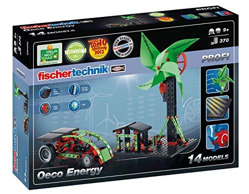 Fischertechnik Oeco Energy  - Divertidísimo Juego Educativo para Experimentar con Energía Renovable y Construir 14 Modelos Diferentes