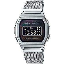Casio Unisex's Digital Quartz Watch with Stainless Steel Strap A1000M-1BEF