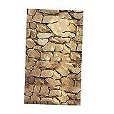 Fenteer Wandbild Ziegelstein Sticker Selbstklebend Steinwand Tapete Wandaufkleber - #C