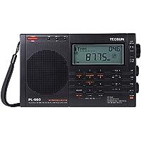 TECSUN Radio PL-660 PLL AIR/FM/MW/LW/SW SSB SYNC Band Worldwide Portable Digital Radio Receiver World with High sensitivity and selectivity by Dopobo by Tecsun