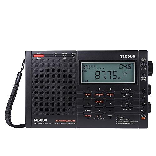 Mbuynow PL-660 PLL SSB Weltempfänger mit 2000 Speichern (Audio Jack Cover)