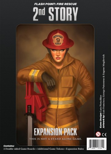 Unbekannt Indie Boards & Cards IBG0FP03 - Flash Point: Fire Rescue - 2nd Story Expansion Brettspiele (Brettspiele Expansion)