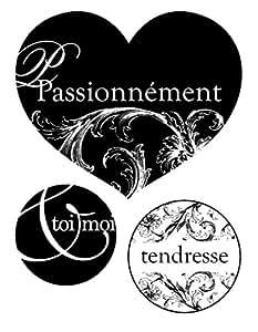 Artemio Mini tampons clear - Passionnément coeur