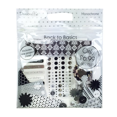 dovecraft-back-to-basics-confezione-di-accessori-per-arti-creative-per-carta-monocromo