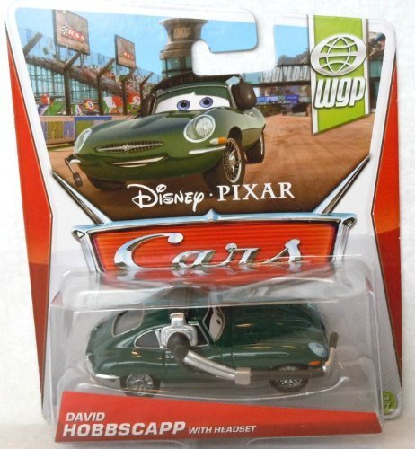 2013 Disney Pixar Cars - David Hobbscapp with Headset - WPG by Mattel