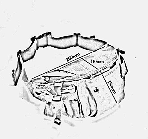 ZHANGRONG- Tasche Borsa Di Tela Seni Degli Uomini Borsa Sportiva Ricreativa All'aperto Della Spalla Borsa Multifunzione Messenger (Opzionale A Colori) ( Colore : 3 ) 3