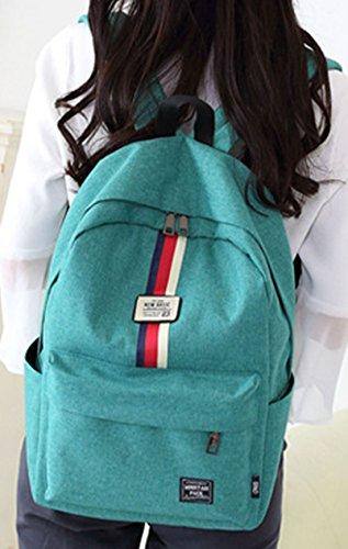 Keshi Leinwand Niedlich Damen accessories hohe Qualität Einfache Tasche Schultertasche Freizeitrucksack Tasche Rucksäcke Tiefblau
