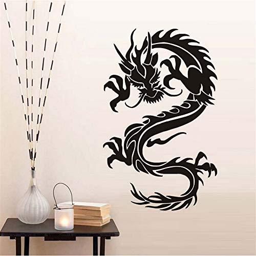 Cchpfcc Cultura China Dragón Símbolos De La Virtud Y La Fuerza Pegatinas De Pared Decoración Del Hogar ExtraíblePapel Pintado Calcomanía Decoración Para El Hogar