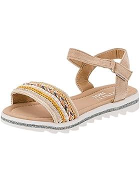Modische Sandaletten Sandalen Mädchen mit Glitzer und Strass