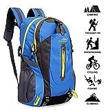 Yunplus Zaino Escursionismo con Parte Esterna Rimovibile, Ultraleggero Zaino da Trekking per l¡¯Arrampicata, Il Campeggio, Le Escursioni in Montagna 40L (Blu)