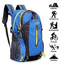 Zaino Escursionismo Con Parte Esterna Rimovibile,Yunplus Ultraleggero Zaino Da Trekking Per l¡¯Arrampicata, il Campeggio…