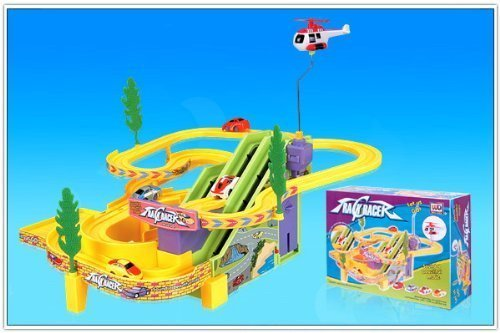track-racer-kids-racing-race-game-battery-operated-toy-set-with-2-cars-by-misha