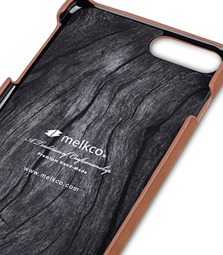 Apple Iphone 7 Melkco Jacka Type Premium Leather Case with Premium Leather Hand Crafted Good Protection,Premium Feel-Red LC Classic Vintage Brown 1