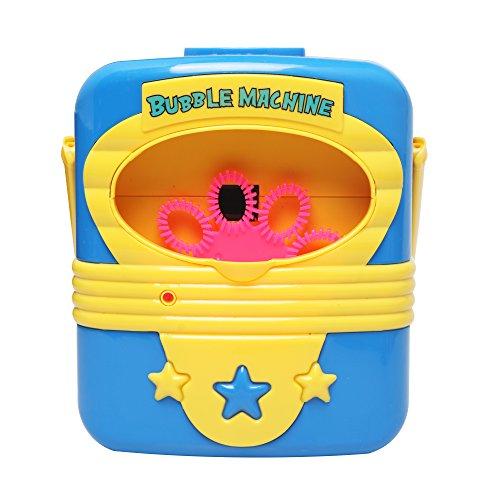 (Ellien Seifenblasenmaschine Bubble Machine,Seifenblasen-Maschine Automatische Bubble Blower Bubble Maker Spielzeug für Kinder im Freien Spielen, Party, Hochzeit (Seifenblasenmaschine Kinder))