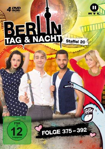 Berlin - Tag & Nacht - Staffel 20 (Folge 375-392) [4 DVDs]