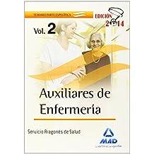 Auxiliares de Enfermería del Servicio Aragonés de Salud. Temario parte Específica. Volumen II: 2
