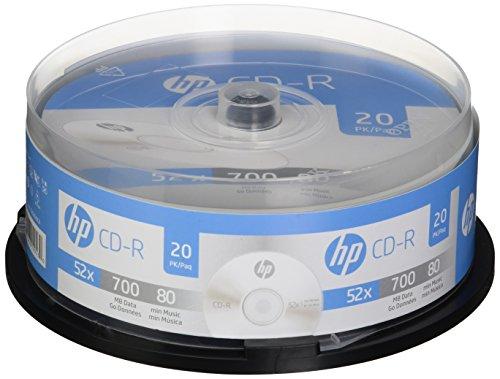 HP cr52020cb 700MB CD-Rs, 20-ct Spindel (Hp-media-spindel)