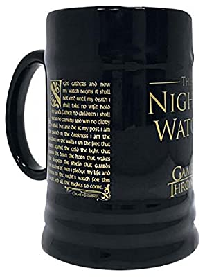 Game of Thrones Night's Watch Beer Mug