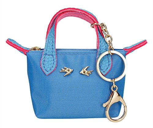 Depesche 10099 - Trend Love Anhänger Miniatur Tasche, azurblau, ca. 11 cm Preisvergleich