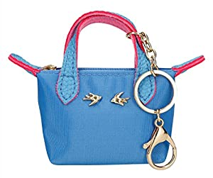 Depesche 10099colgante miniatura funda Trend Love, color azul, aprox. 11cm, Niña