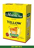 #4: MARVEL YELLOW BOX TEA 250 GMS & GET MOBILE RECHARGE FREE RS.50/-
