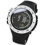 [LAD WEATHER] Beschleunigungssensor, Uhrenmesser, 3 Achsen, Alarm, Wettervorhersage, Klettern, Laufen, Wandern