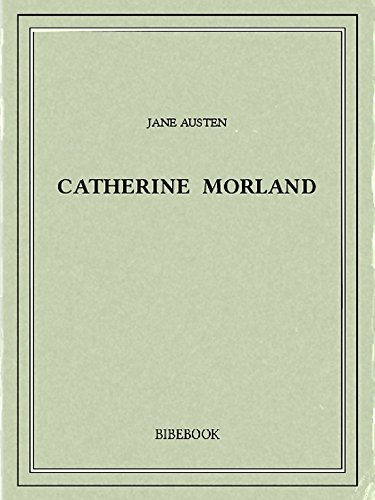 Couverture du livre Catherine Morland