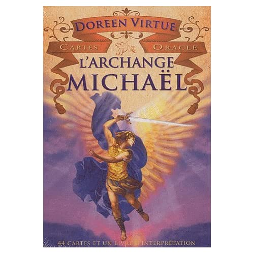 Cartes oracle L'archange Michaël. 44 cartes et un livret d'interprétation