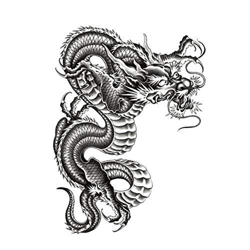 n temporär / Sticker - Drachen Dragon - Wasserfest ()