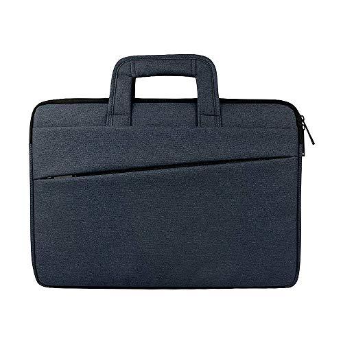 Weimilon Laptop Rucksack 1Pc Frauen Herren Aktentasche Messenger Bag Für Stilvolle Unikat Laptop Tasche Notebook Geschenk Grau Taschen (Color : Navy, Size : One Size)
