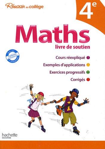 Maths 4e : Livre de soutien