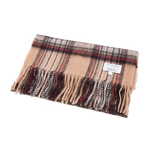 Edinburgh Lambswool - Bufanda de 100% lana de cordero, diseño de tartán escocés -  Multi color...