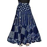 #6: Mudrika 100% Cotton Women's Jaipuri Skirt-(WRAP Around Multi Color @ Free Size)